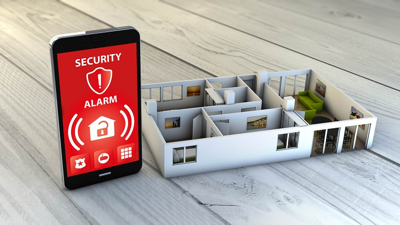 security alarm smartphone
